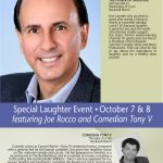Joe lectures on the Health Benefits of Laughter at the prestigious Canyon Ranch in Lennox, MA
