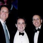 Joe Rocco with Honorees Michael Corrente & Armand Sabatoni, RI Italian Hall of Fame Inductions